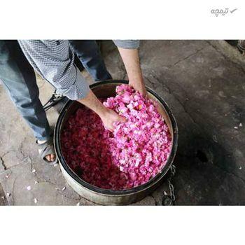 گلاب سنگین مهرگل حجم 1 لیتر