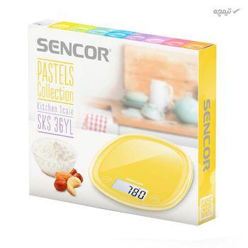 ترازوی آشپزخانه سنکور مدل SENCOR SKS 36YL