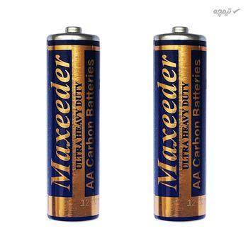 باتری قلمی و نیم قلمی مکسیدر مدل UHD بسته 4 عددی