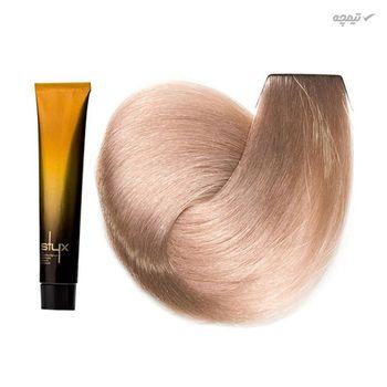 رنگ مو استایکس شماره 10.25 رنگ بلوند مرواریدی ماهاگونی بسیار روشن حجم 100 میلی لیتر