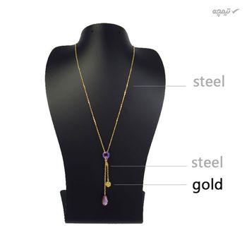 گردنبند طلا 18 عیار زنانه مانچو مدل sfg638