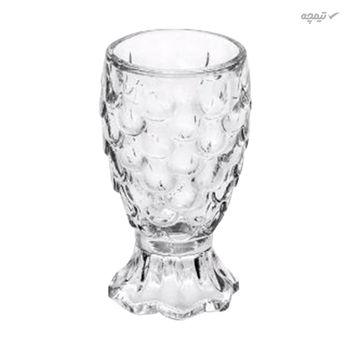 استکان شیشه ای مدل lioustr بسته 6 عددی