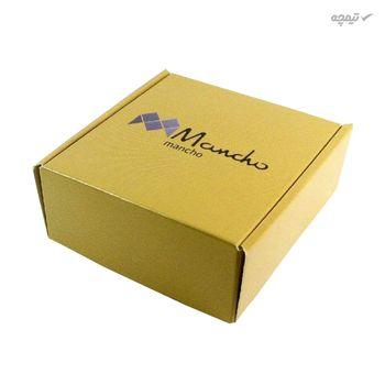 گوشواره طلا 18 عیار زنانه مانچو مدل efgs003