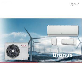 کولر گازی سرمایش و گرمایش مجیک کولینگ مدل 18000RT1 oranos با مصرف انرژی B