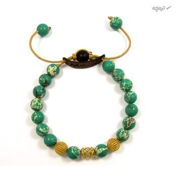 دستبند طلا 18عیار زنانه مانچو مدل bfg138