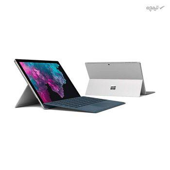 تبلت 12.3 اینچی مایکروسافت مدل Surface Pro 6 - LQH ظرفیت 256 گیگابایت به همراه کیبورد TYPE COVER و قلم