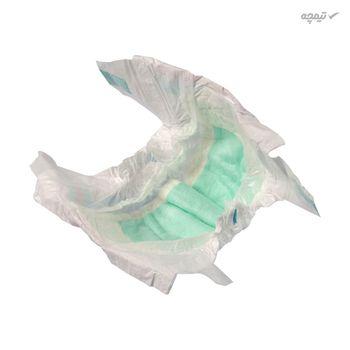 پوشک مای بیبی آبی سری مهربان با پوست سایز 4 بسته 12 عددی