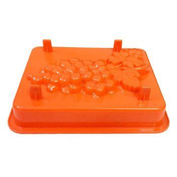 قالب پلاستیکی کیک و دسر کیک باکس کد 1103 مدل انگور