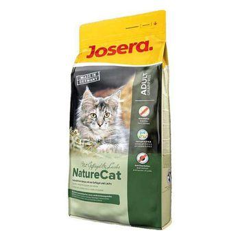 غذای خشک گربه جوسرا مدل Naturecat وزن 400 گرم