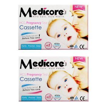 تست بارداری مدیکور مدل Cassette 99.8% بسته 2 عددی