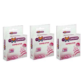 کاندوم ایکس دریم مدل Super Stud سه بسته 1 عددی