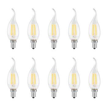 لامپ فیلامنتی 5 وات آیلا مدل  fila5 پایه E14  بسته 10 عددی