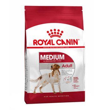 غذای خشک سگ رویال کنین مدل Medium Adult وزن 4 کیلوگرم