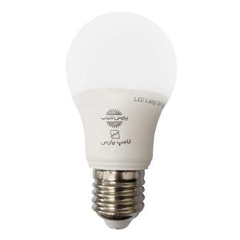 لامپ اس ام دی 9 وات پارس شهاب مدل PA09 حبابی پایه E27
