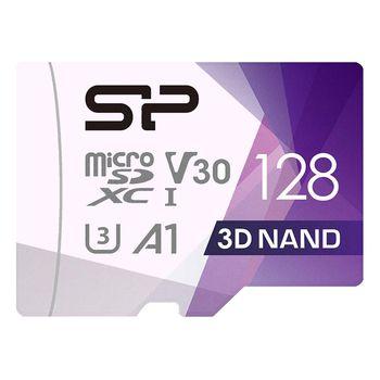 کارت حافظه microSDXC سیلیکون پاور مدل Superior Pro کلاس 10 سرعت 100MBps ظرفیت 128 گیگابایت به همراه آداپتور SD