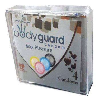 کاندوم بادی گارد مدل 01 بسته 4 عددی