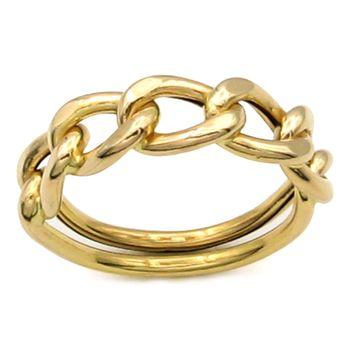 انگشتر طلا 18 عیار زنانه کاپانی کد KR002