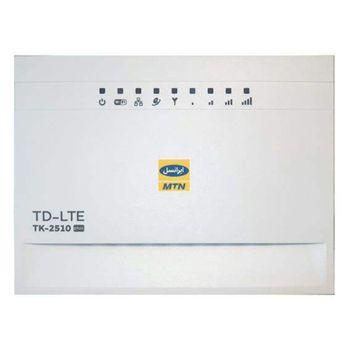مودم TD-LTE ایرانسل بی سیم و با سیم مدل TK-2510 plus به همراه 24 گیگابایت اینترنت 3 ماهه