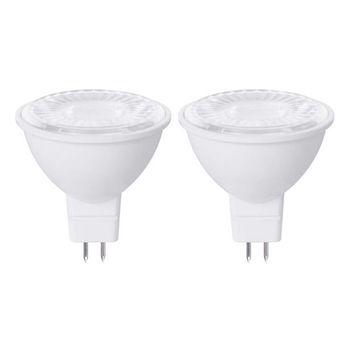 لامپ هالوژن 7 وات جی سی سی مدل SL20 پایه GU5.3 بسته دو عددی