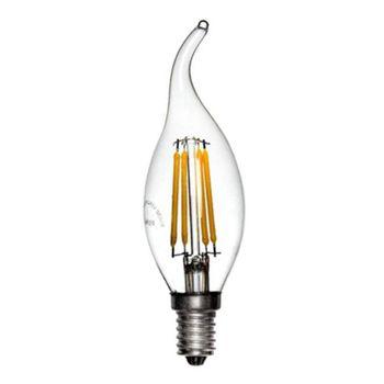 لامپ ال ای دی 4 وات هالی استار مدل اشکی کد tailed C35T پایه E14