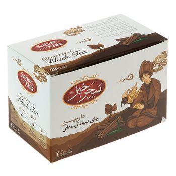 چای سیاه کیسهای دارچین سحرخیز بسته 20 عددی