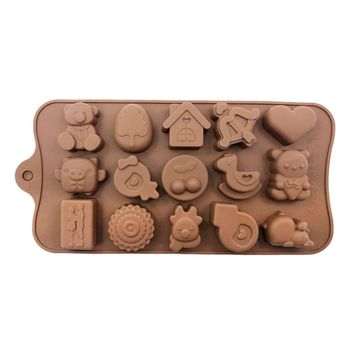 قالب شکلات مدل عروسکی