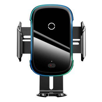 پایه نگهدارنده و هولدر گوشی موبایل با قابلیت شارژ بی سیم باسئوس مدل WZHW03