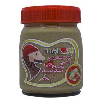 کره بادام زمینی کرمی مروسا مقدار 320 گرم