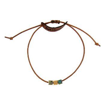 دستبند طلا 18 عیار زنانه مانچو کد bfg148