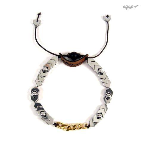دستبند طلا 18 عیار زنانه مانچو مدل bfg130
