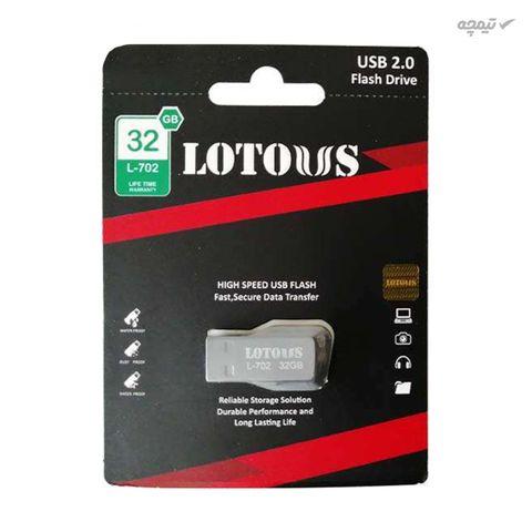 فلش مموری لوتوس مدل L702 ظرفیت 32 گیگابایت با رابط USB 2.0