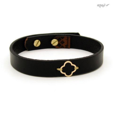 دستبند طلا 18 عیار زنانه مانچو کد bfg200