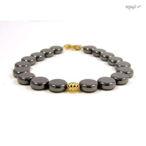 دستبند طلا 18 عیار زنانه مانچو کد bfg160