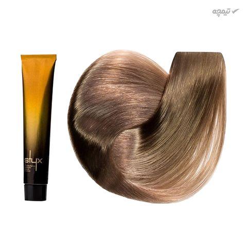 رنگ مو استایکس شماره S907 حجم 100 میلی لیتر رنگ بلوند بنفش فوق روشن