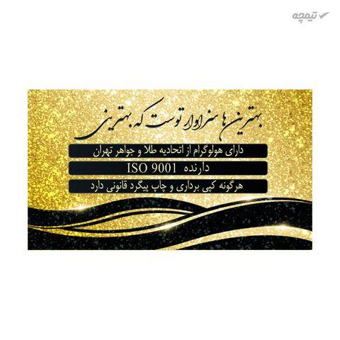 طلا گرمی 18 عیار پارسیان کد NE374