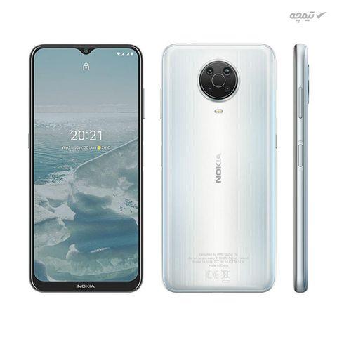 گوشی موبایل نوکیا مدل Nokia G20 دو سیم کارت، ظرفیت 128 گیگابایت با رم 4 گیگابایت