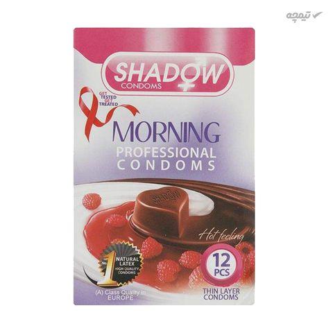 کاندوم شادو مدل MORNING بسته 12 عددی