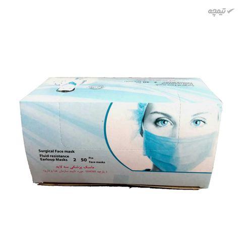 ماسک تنفسی بایکو مدل PB بسته 50 عددی