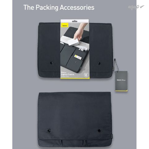 کیف لپ تاپ باسئوس مدل LBJN_B0g مناسب برای لپ تاپ 16 اینچی