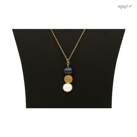 گردنبند طلا 18 عیار زنانه مانچو مدل sfg644