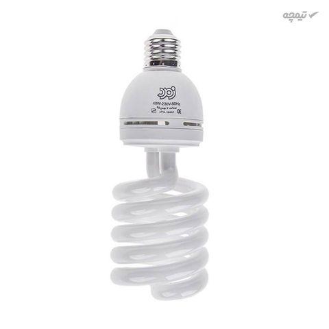 لامپ کم مصرف 40 وات زمرد پایه E27