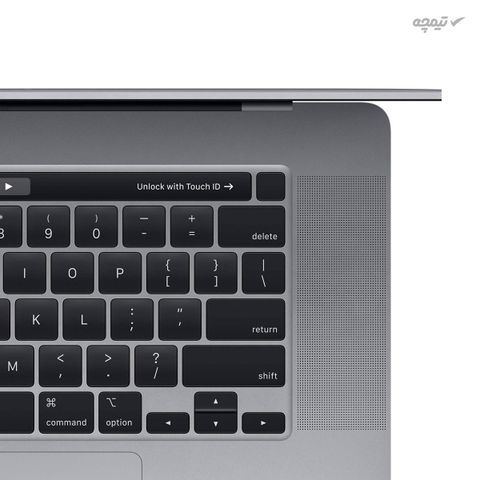 لپ تاپ 16 اینچی اپل مدل MacBook Pro MVVK2 2019 همراه با تاچ بار، i9(9880H)/16GB/1TB SSD/4GB(Radeon Pro 5500M)/4K
