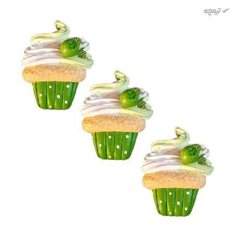 مگنت مدل کاپ کیک خامه ای کد tk
