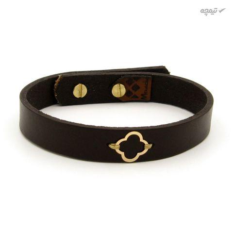 دستبند طلا 18 عیار زنانه مانچو کد bfg204