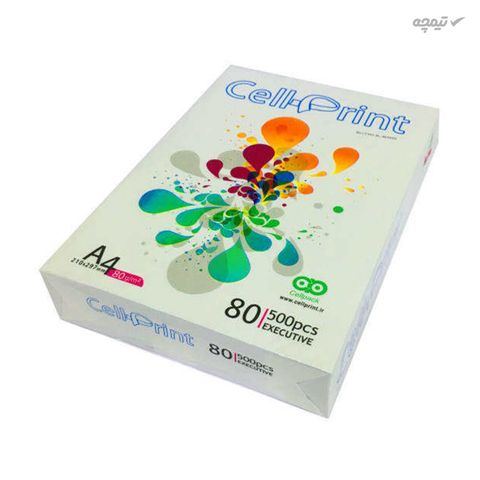 کاغذ A4 سل پرینت مدل Exactive بسته 500 عددی