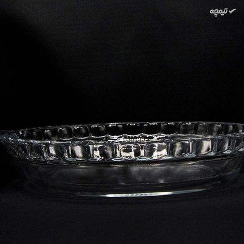 ظرف سرو شیشه ای بلور کاوه مدل پارمیدا