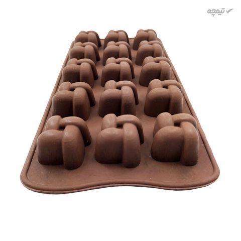 قالب شکلات مدل گره