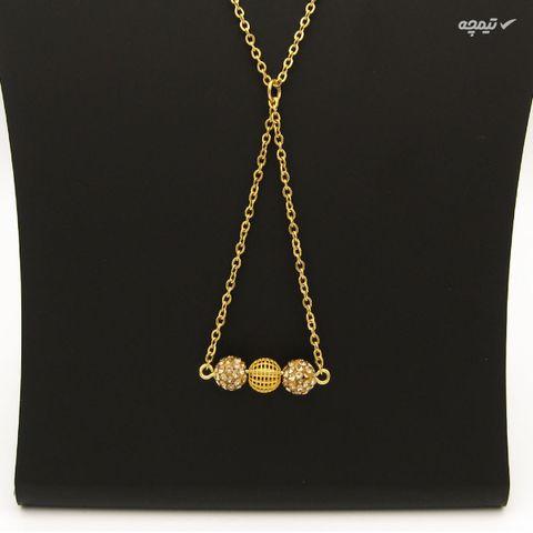 گردنبند طلا 18 عیار زنانه مانچو کد sfg649
