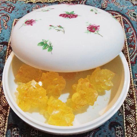 ظرف شکلات خوری چینی زرین ایران مدل 0098