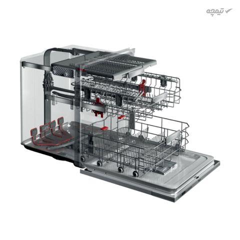 ماشین ظرفشویی ویرپول مدل WFC-3C26F با ظرفیت 14 نفر و مصرف انرژی A